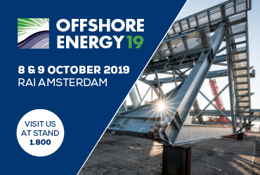 Meet us @ Offshore Energy 2019!