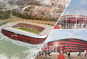 Nieuw dak voor AFAS Stadion Alkmaar (NL)